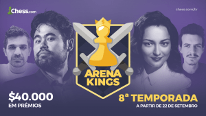 Arena Kings 8ª Temporada: Informações completas