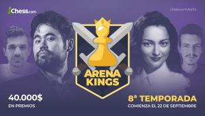 Arena Kings - 8ª temporada: toda la información