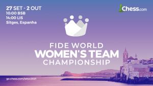 Campeonato Mundial Feminino por Equipes 2021: Informações completas