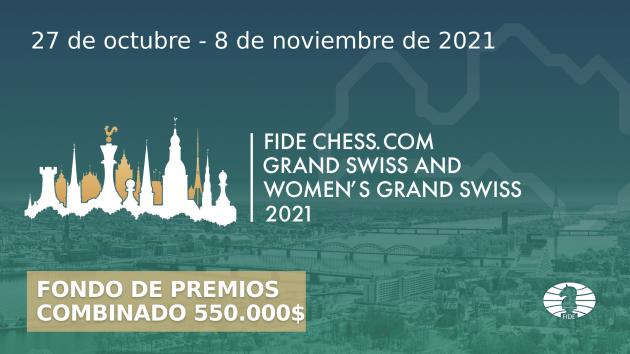 Gran Suizo de la FIDE-Chess.com: toda la información