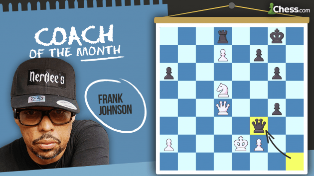Coach Of The Month: Frank Johnson