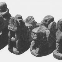 The first Persian and Arab chessmen
