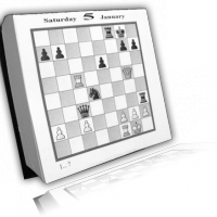 2009 Daily Chess Calendar