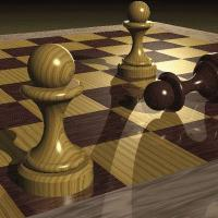 An amazing example about the power of passed pawns