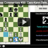 LIVE Blitz Chess Commentary #39: Caro-Kann Defense (Exchange Variation)