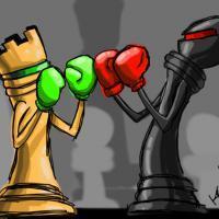 Playing against Kasparov