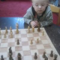 Teaching my son (@ 18 months) to play chess