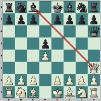 Puzzle mirror moves and checkmate in 4th move