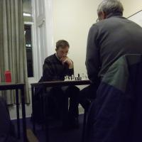 Jim Crawford vs Iain Hope Musselburgh Chess Club
