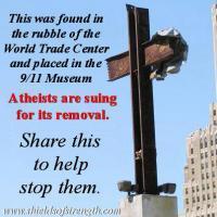 9/11 FOUND CROSS AT TRADE CeNTER