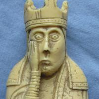 Why does the Lewis Queen look scared?
