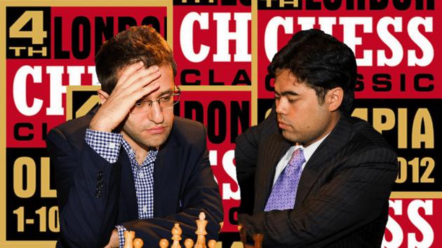 Levon Aronian vs. Hikaru Nakamura - 2012 London Chess Classic
