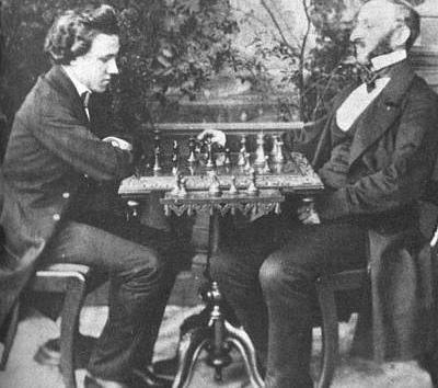 Paul Morphy VS The Duke and The Count
