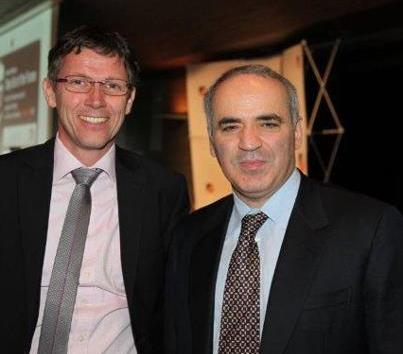 Kasparov in Slovenia