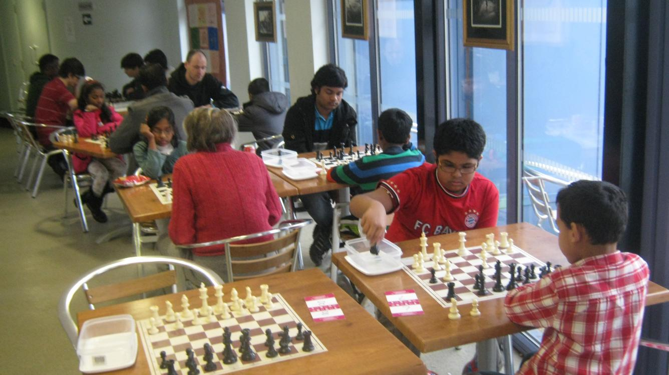 First Invitational Kitchen Table Café in the Park Chess Classic