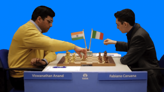 Anand vs. Caruana - 75th Tata Steel Chess - Round 3