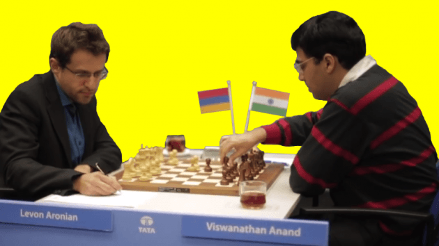 Aronian vs. Anand - 75th Tata Steel Chess - 2013