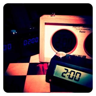 Chess Clocks Setup Tests