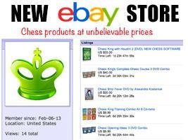 New Chess King eBay Store