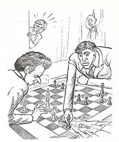 Fischer - Spassky 1972 WCH Game 16 (C69)
