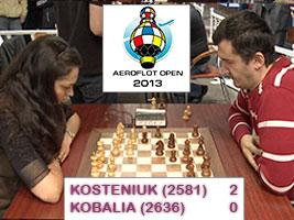 2 New YouTube Chess Videos Kobalia (2636) - Kosteniuk (2581)