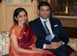 Kejadian lucu GM Viswanathan Anand dengan isterinya