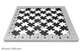 پازل شطرنجی به سبک مار و پله