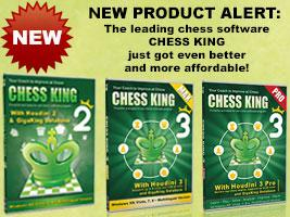 New Versions of Chess King Software Announced Today