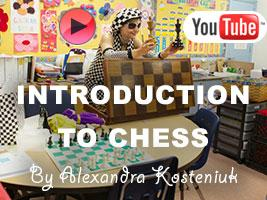 Introduction to Chess to Kindergarten Class by Kosteniuk