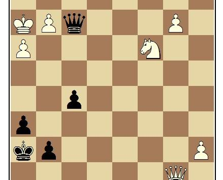 An Opponent's Obliviousness/Scotoma for my Draw...