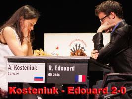 New YouTube video GM Kosteniuk - GM Edouard