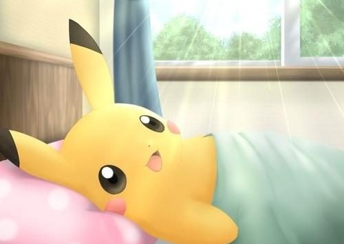 Good morning pikachu!