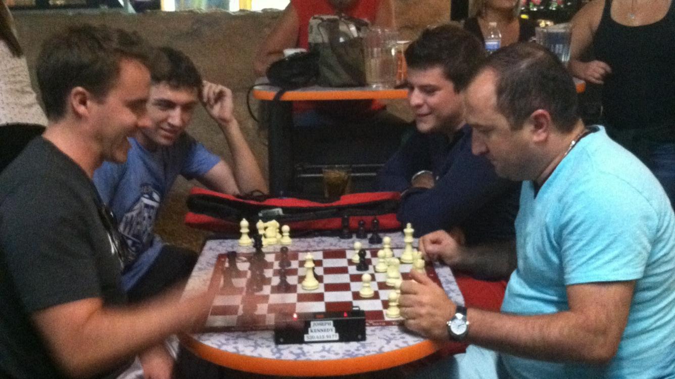 Western Invitational Chess Camp - The Beginning