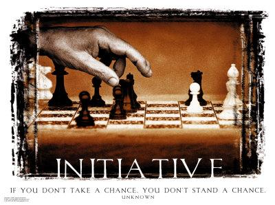 Never Give Up On Your Initiative