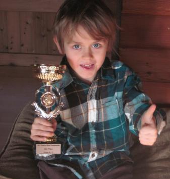8-Year-Old Rowan James Headed for World Championship in Dubai!