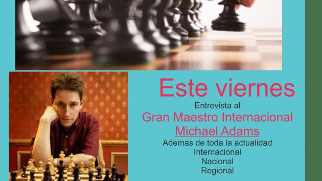GM Michael Adams Entrevista en español