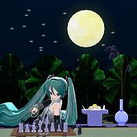 月は出ているか。