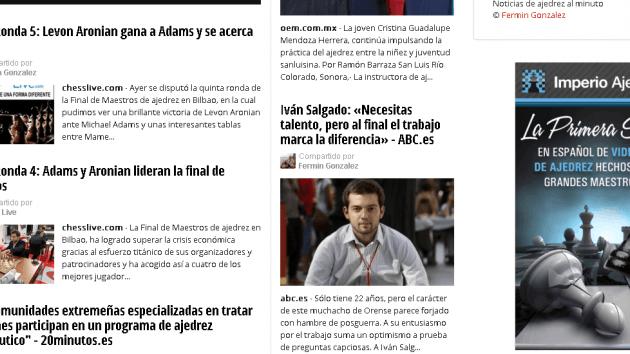 Noticias de Ajedrez & Chess News