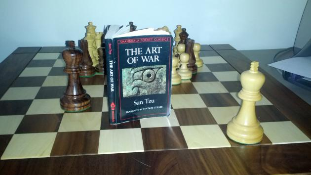 Part 1: A self study in Sun TZu's Art of War and how it can relate to chess