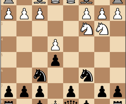 Sicilian Sveshnikov: a complicated middlegame with a few turnarounds