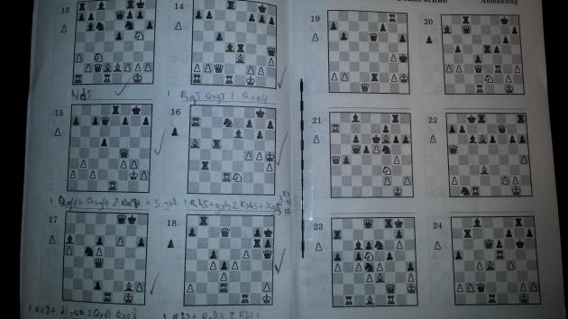 Today I started on the booklet on Soviet chess secrets I bought in Moscow.