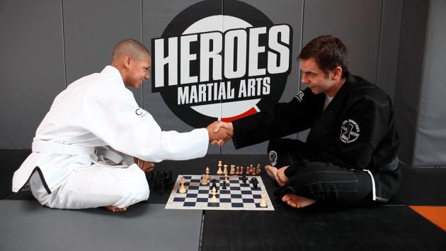 A Technical Flow: Chess and Jiu Jitsu