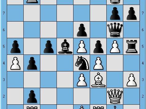 The Faster & Stronger Win She Missed. Zhukova, Natalia (2466) vs. Umudova, Nargiz (2253) (0-1)