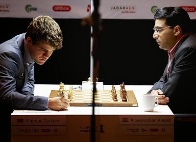 Anand Vs. Magnus Carlsen Live Games With Video