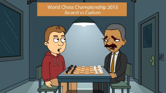 Video Animation Tribute to: Viswanthan Anand vs Magnus Carlsen - Best of World Chess Championship 20