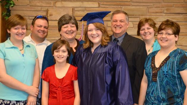 Sandra Graduated!