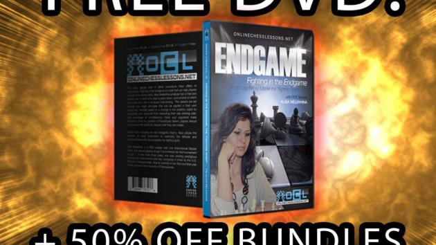 FREE Empire Chess DVD! + The biggest sale ever! 50% off all bundles