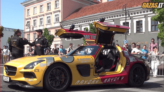 Gumball 3000 Checkpoint in Vilnius (LITHUANIA, 2013)