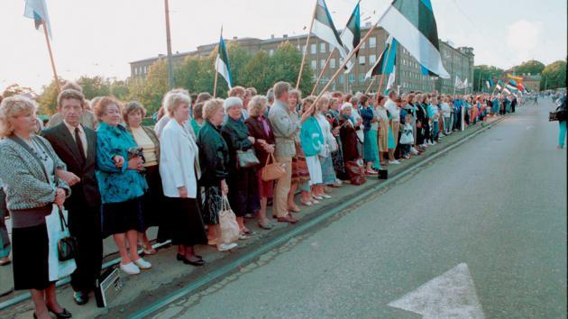 Balti Tee Balti Kett 1989 (Estonia, Lithuania, Latvia)