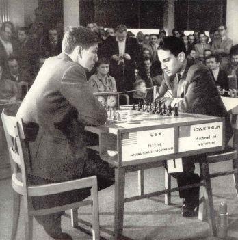 Fischer vs Tal (Leipzig ol 1960)